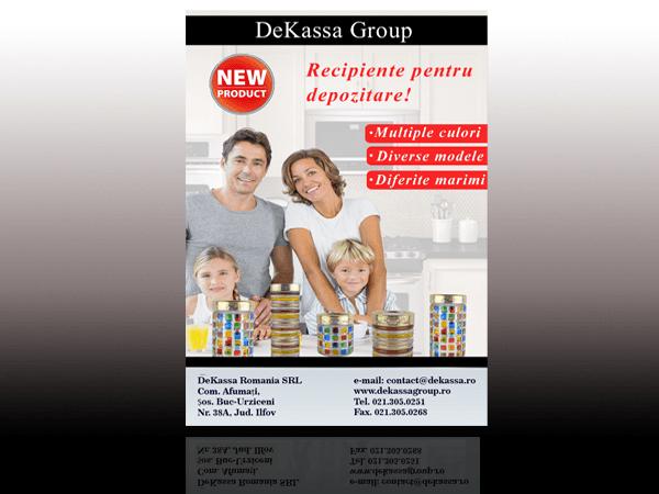 dekassa-recipiente